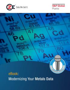 eBook: Modernizing Your Metals Data