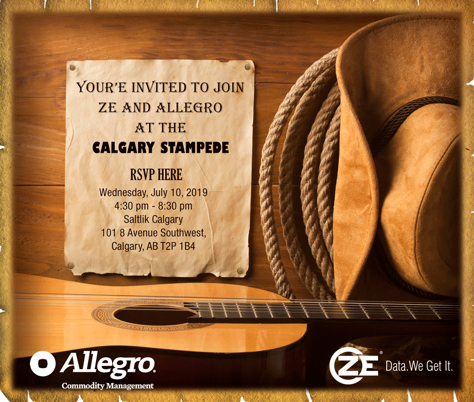A ZE and Allegro Networking Reception at Calgary Stampede