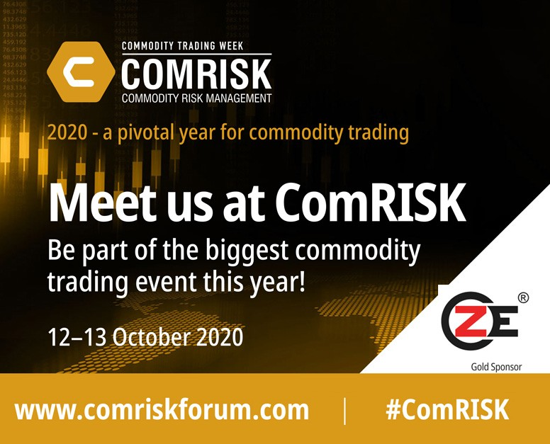 ZE is sponsoring at the Virtual Commodity Risk Management 2020