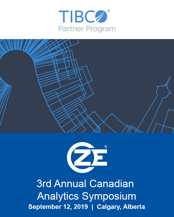 ZE is attending Tibco's Canadian Analytics Symposium