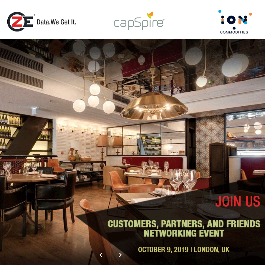 ZE, capSpire, and ION Commodities Energy Networking Event in London