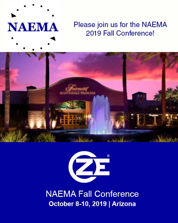 ZE is NAEMA 2019 Fall Conference!