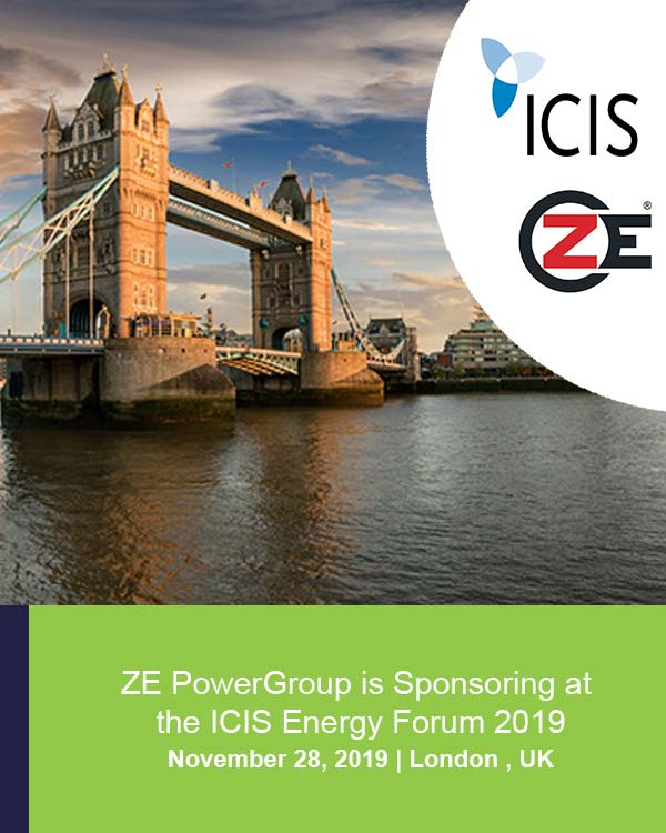 ZE is sponsoring at the ICIS Energy Forum 2019