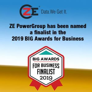 ZE PowerGroup has been named a finalist in the 2019 BIG Awards for Business!