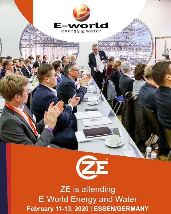 ZE is attending e-world