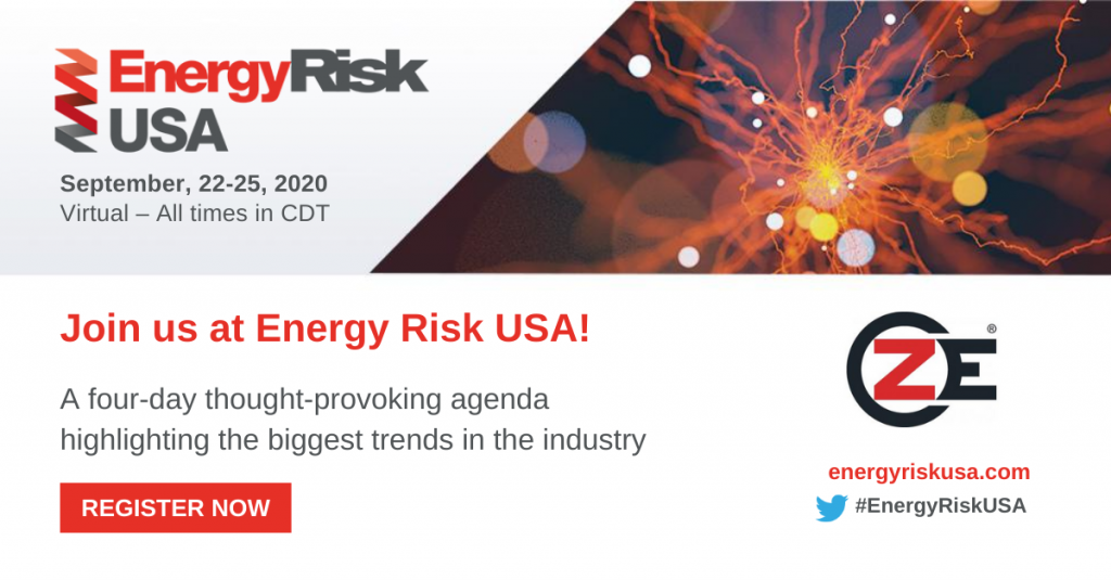 ZE is sponsoring at the Energy Risk USA