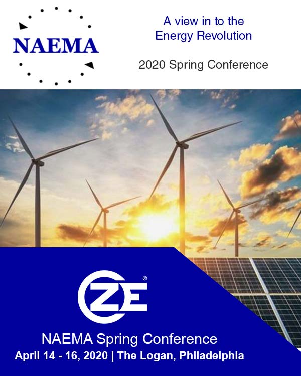 ZE is sponsoring at NAEMA 2020