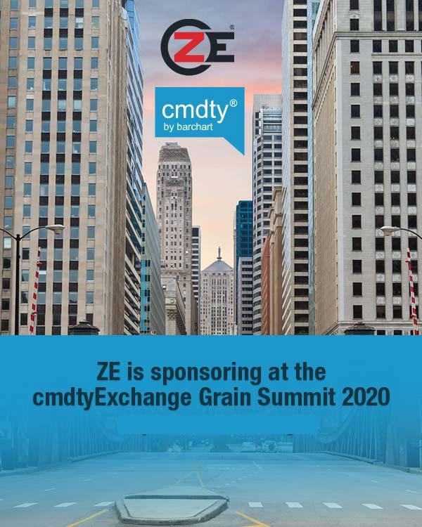 ZE is sponsoring at the cmdtyExchange Grain Summit 2020