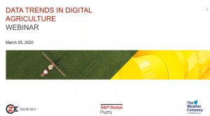 Presentation: Data Trends in Digital Agriculture
