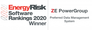 ZE PowerGroup Earns the No.1 Spot in the EnergyRisk Software Rankings for Data Management Firms in 2020
