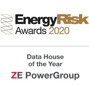 ZE PowerGroup Inc. Awarded the 2020 EnergyRisk Data House of the Year