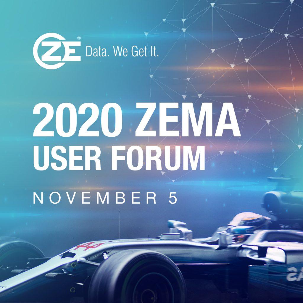 ZEMA User Forum 2020