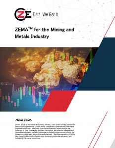 Solution Brief: ZEMA for Mining and Metals Industry