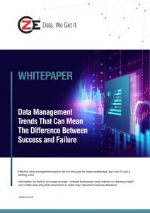 Whitepaper: Data Management Trends That Can Mean The Difference Between Success and Failure