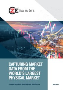 Capturing Market Data From the Worlds Largest Physical Market