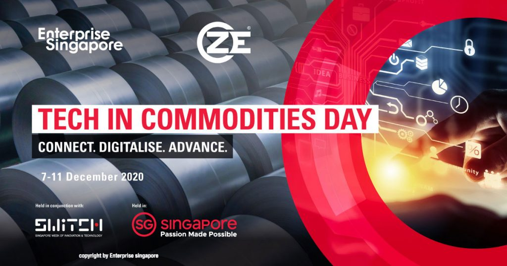ZE is Sponsoring at the Tech in Commodities Day 2020