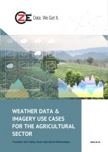 Weather Data and Imagery Use Cases for Agriculture