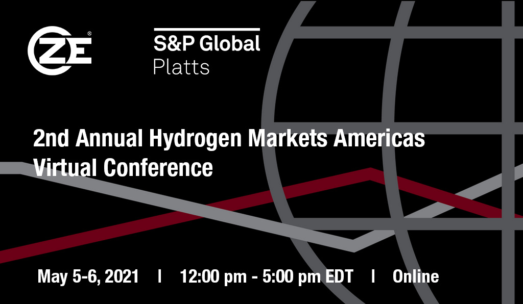 ZE is attending 2nd Annual Hydrogen Markets Americas Virtual Conference