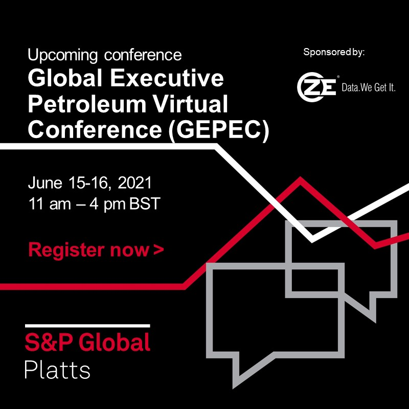 ZE is attending Global Executive Petroleum Virtual Conference (GEPEC)