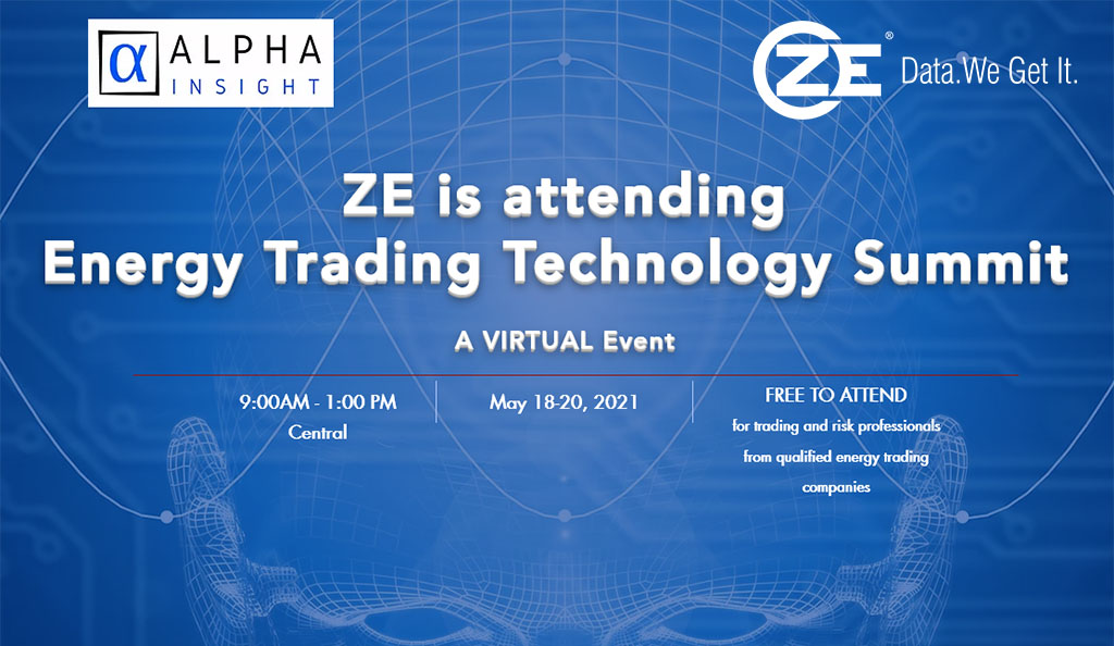 ZE is attending Energy Trading Technology Summit