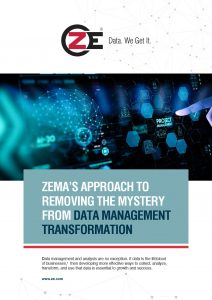 Whitepaper: ZEMA's Approach to Removing the Mystery from Data Management Transformation