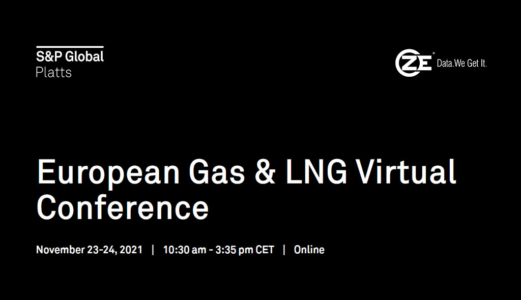 ZE is attending European Gas & LNG Virtual Conference