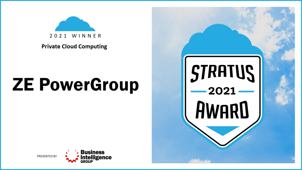 ZE PowerGroup Named a Global Leader in Cloud Computing for the Third Year in a Row