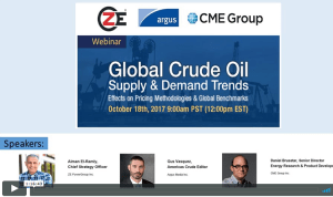 Global Crude Oil Supply and Demand Trends Webinar Recording