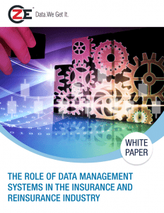 The Role of Data Management Systems in the Insurance and Reinsurance Industry - Case Study