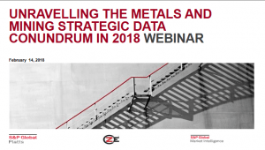 Unraveling the Metals and Mining Strategic Data Conundrum in 2018
