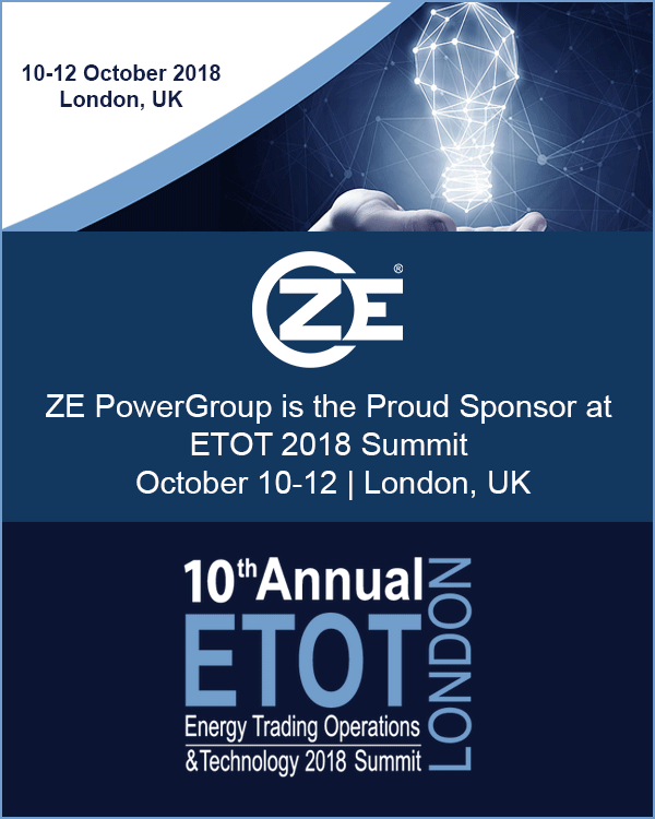 10th Annual Energy Trading Operations & Technology 2018 Summit (ETOT)