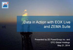 EOXLive Data in Action Through ZEMA