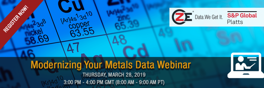Modernizing Your Metals Data: Transforming your data to the new era of intelligent data analytics