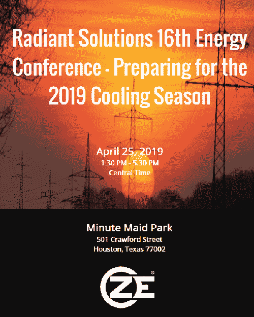 Radiant Solutions 16th Energy Conference - Preparing for the 2019 Cooling Season