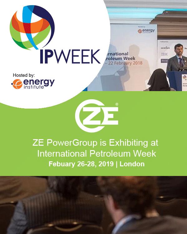 ZE PowerGroup is Exhibiting at  International Petroleum Week